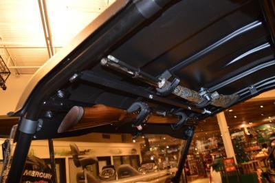 Quick Draw Overhead Gun Rack Model Qd857 Ogr Installed On The Bad Boy Stampede And Stampede Xtr Atv Illustrated