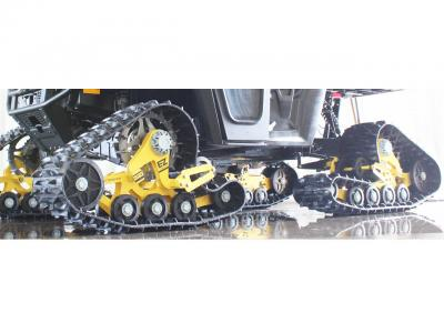 Mattracks New Rubber Track Conversion System Atv Illustrated