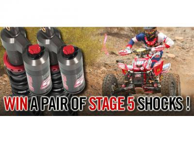 Here is your chance to win a pair of Stage 5 front shocks