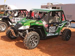 2012.location.moab-utah.arctic-cat-rally-on-the-rocks-event.wild-cat.racer.parked.on-dirt.jpg