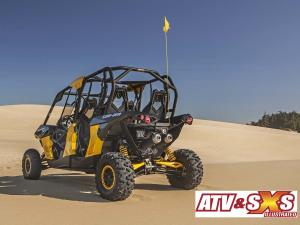 2013.can-am.maverick1000r-max.yellow.rear-left.parked.on-sand.jpg