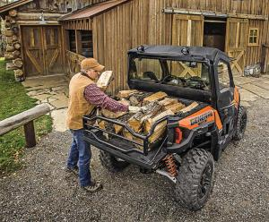 2016.polaris.general1000eps.orange.rear.parked.loading-wood.jpg