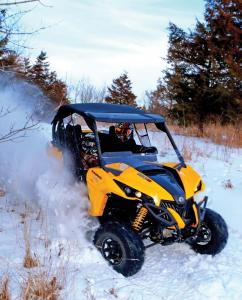 2017.can-am.maverick.yellow.front.riding.in-snow.jpg