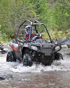 2017.polaris.ace570.silver.front-right.riding.through-water.jpg
