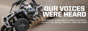 Help Drive The RIDE Act into Law