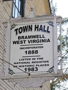 location.2012.hatfield-mccoy.west-virginia.bramwell.town-hall-sign.jpg