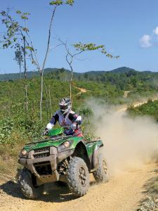 location.2012.hatfield-mccoy.west-virginia.kawasaki-brute-force.green.front.riding.on-trail.jpg