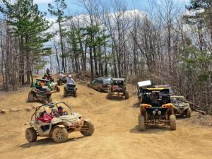 Ride area review rush off road atv illustrated for Atv parks in texas with cabins