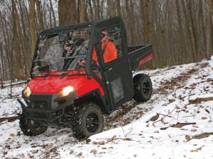 vendor.2013.seizmik.polaris-ranger-cab.riding.in-woods