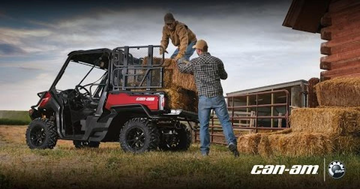 Cargo Accessories For Can Am Defender Side By Side