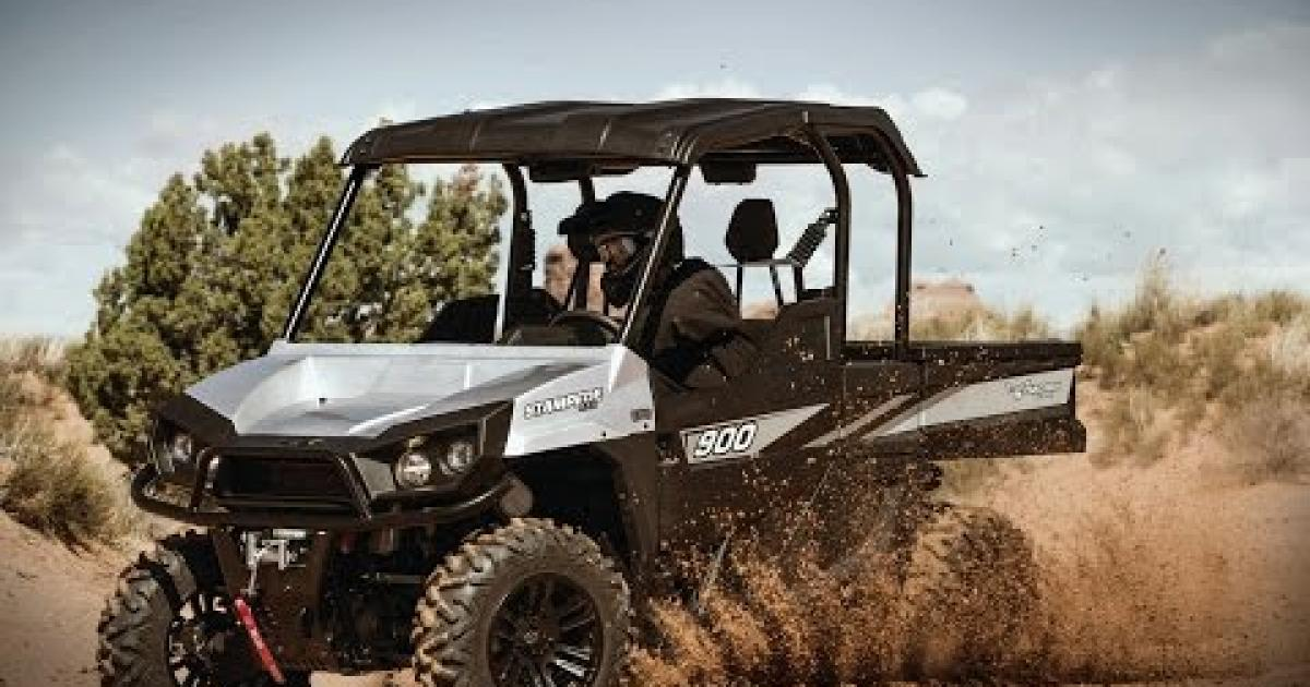 Tackle Any Terrain With Stampede Atv Illustrated