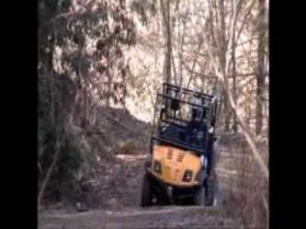 2010 Cub Cadet Volunteer UTV in-action video review