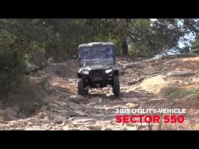 2015 UTV Video 550cc and700cc Utility Vehicles