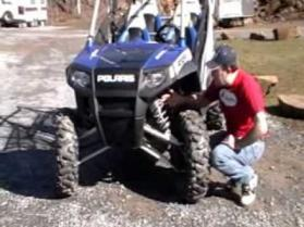 2010 Polaris RZR4 Side-x-Side video review