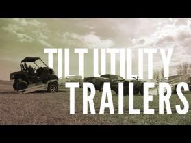 Bear Track Aluminum Tilt Utility Trailers