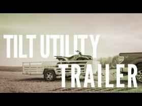 Bear Track Aluminum Tilt Utility Trailer
