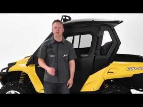 Cab Enclosure for Can-Am Commander side-by-side vehicles