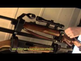 Overhead Gun Rack for Jeep Wrangler