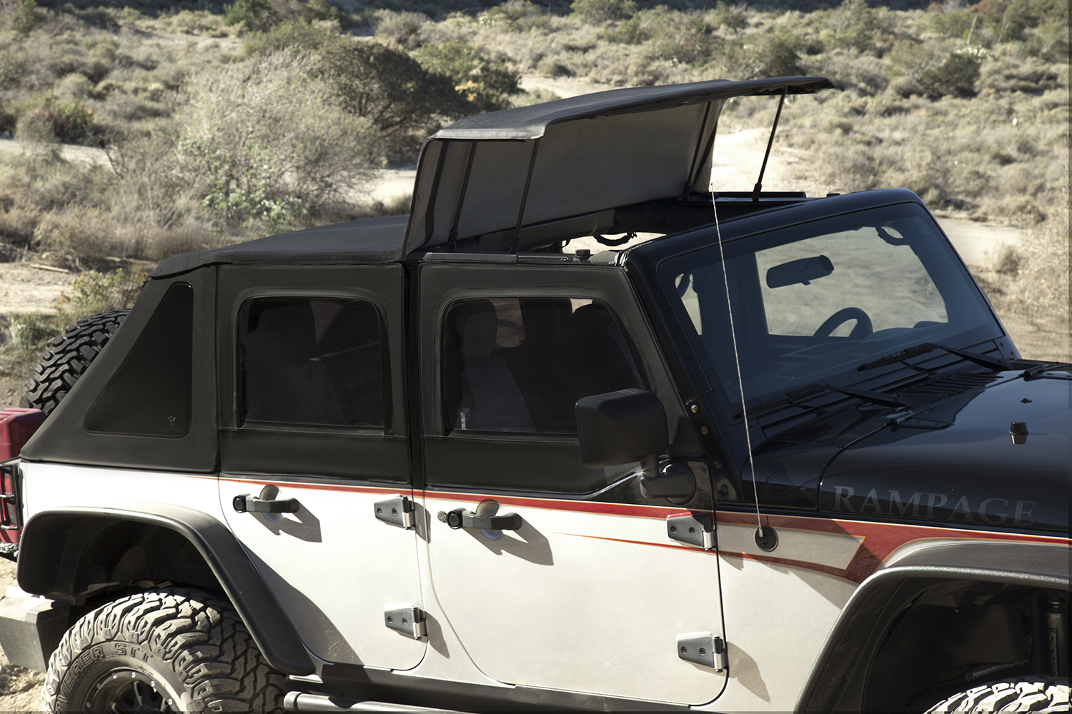 R&age Products is part of the Lund International family of businesses that include AMP Research AVS Belmor Bushwacker LUNDSt&ede Products ... & Rampage Products TrailView Soft Top™ for Jeep Wrangler JK | ATV ...