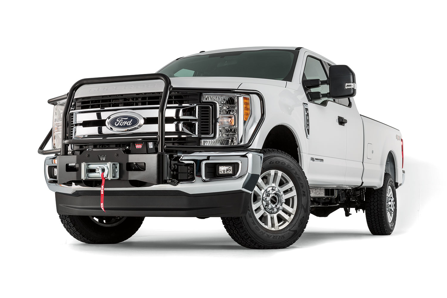 Warn Industries Adds New Ford Super Duty Mounting Systems