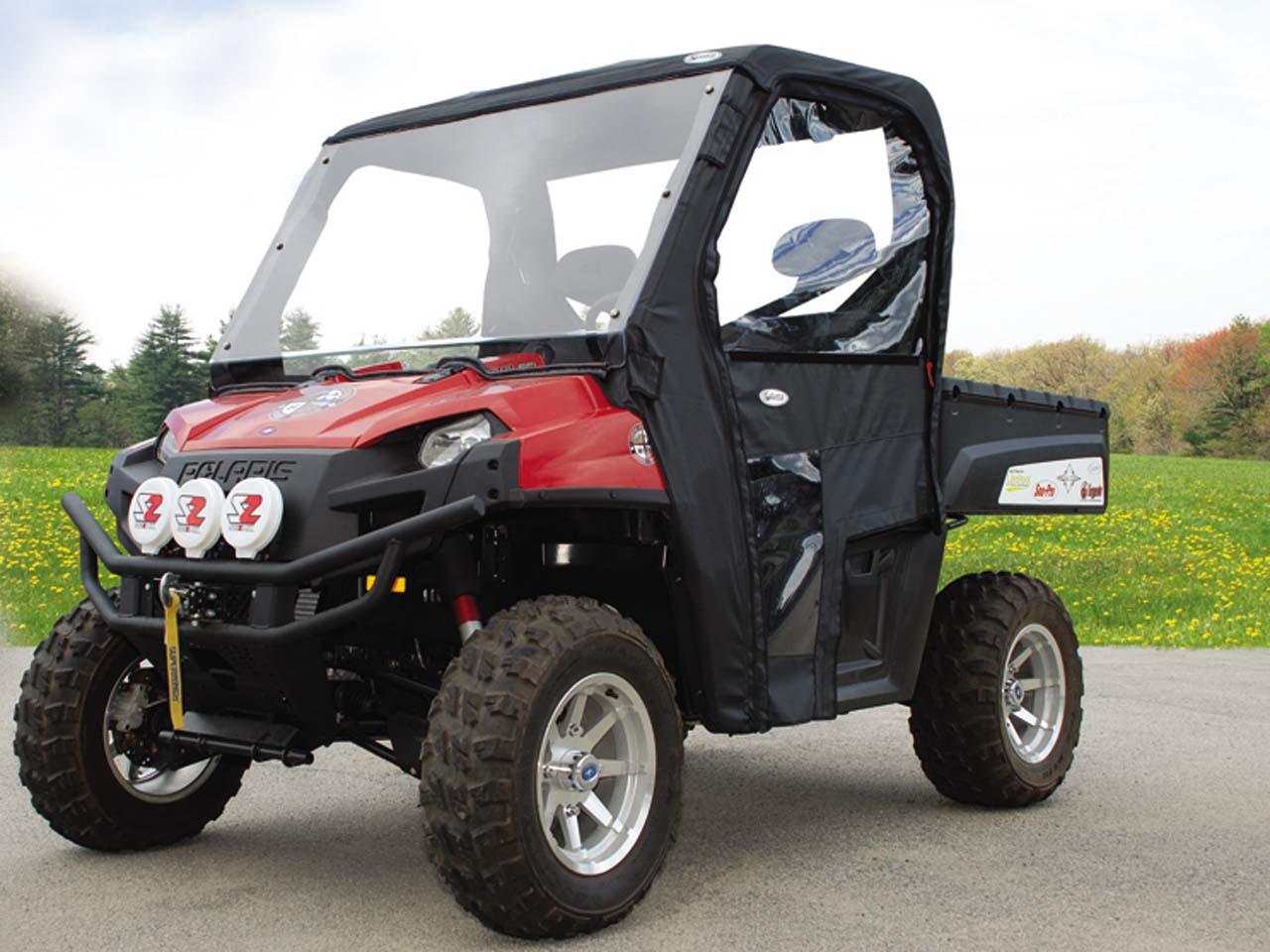 Curtis Introduces New Pathpro Soft Cab For Yamaha Rhino