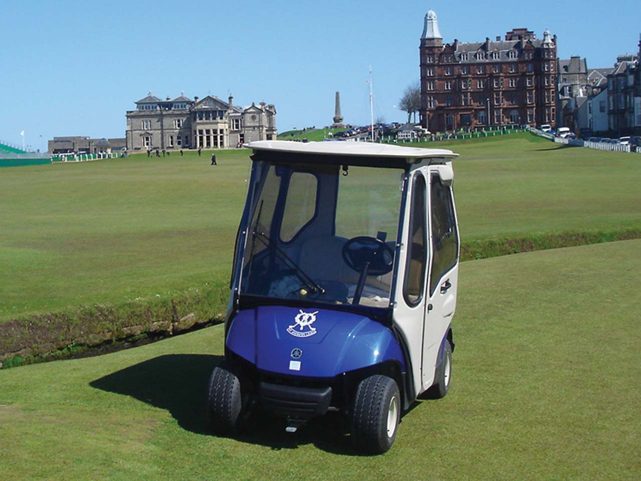 Curtis Supplies Cabs to St  Andrews Golf Course | ATV