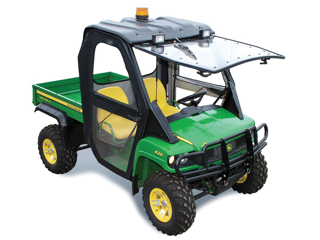 curtis introduces new soft sided cab for john deere gator. Black Bedroom Furniture Sets. Home Design Ideas