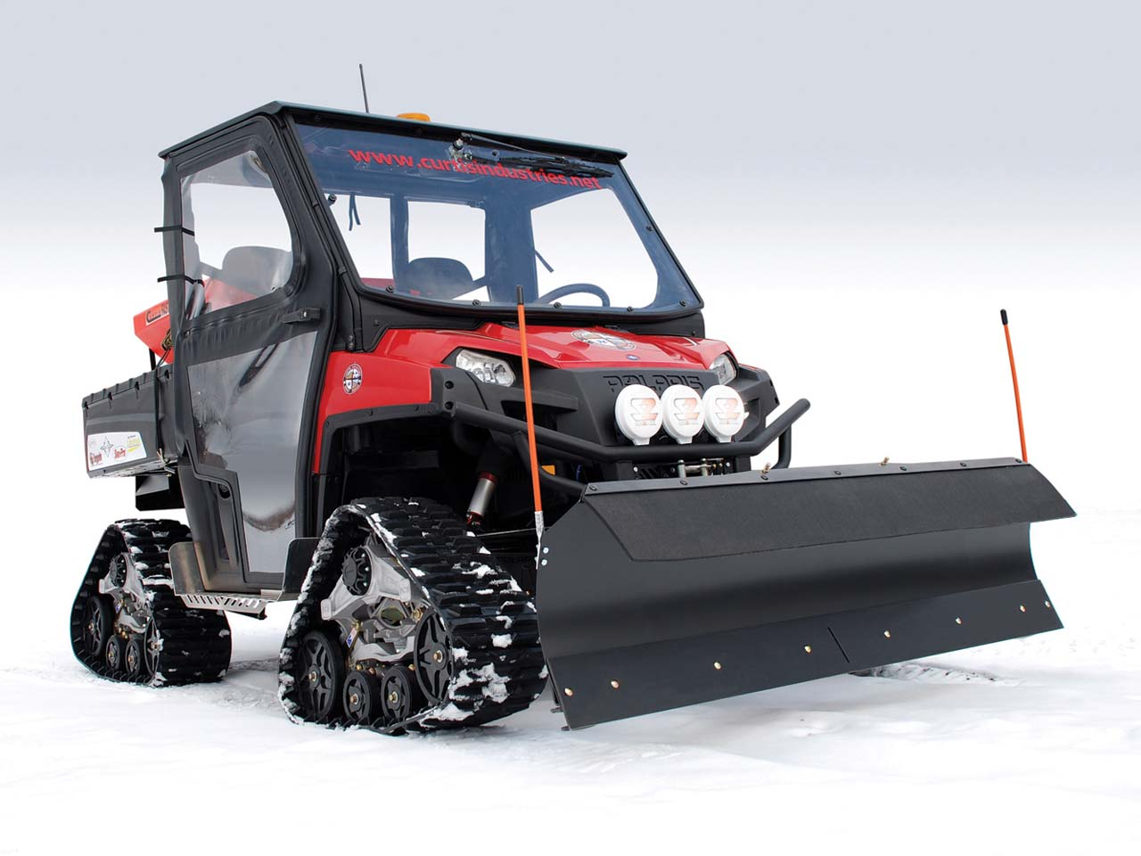 Curtis Introduces New Soft Side Cab For Polaris Ranger 400