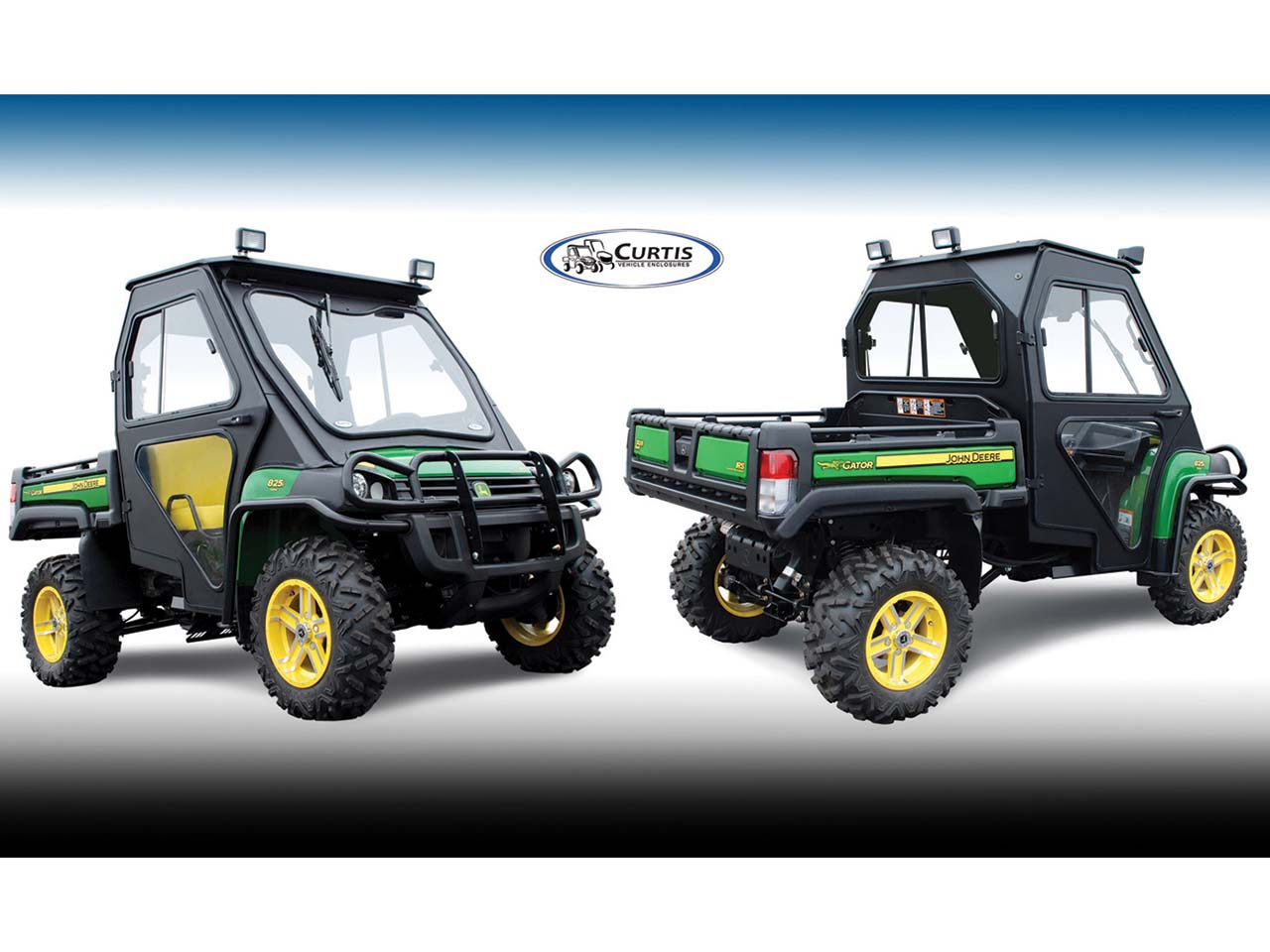 John Deere Side By Side >> Curtis Introduces New Pathpro Cab For John Deere Hpx Xuv Series