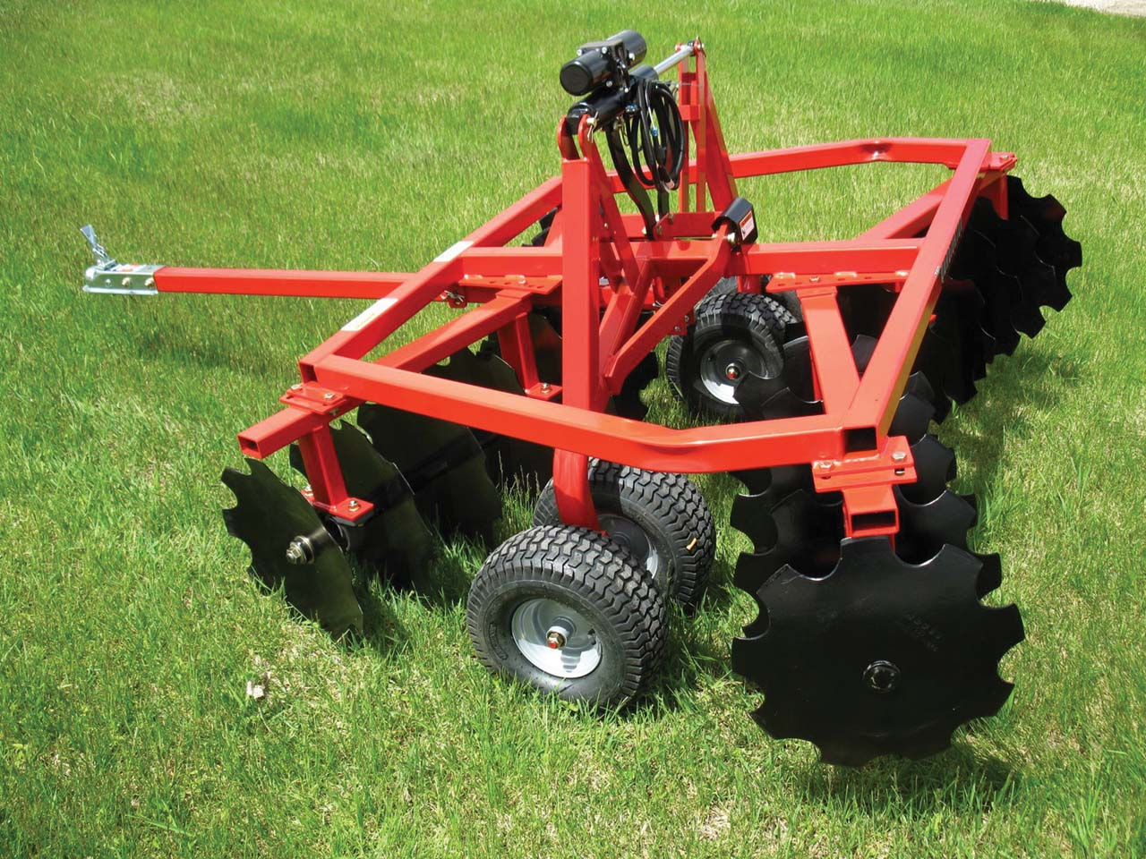 Tow Behind Disc Cultivator | ericlovelacemarketing