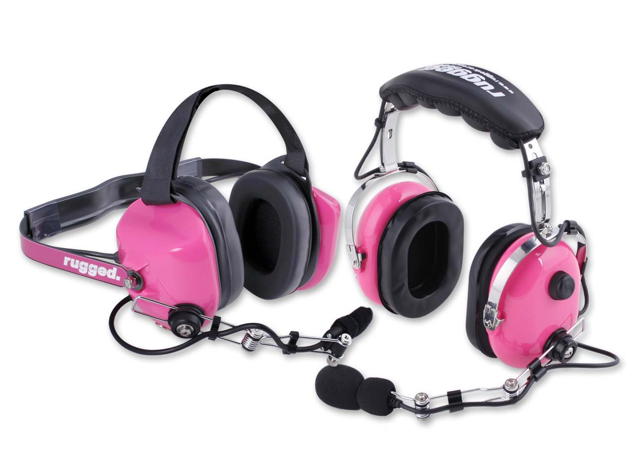Side By Side Atv >> Rugged Radios Introduces Pink Headsets for the Ladies and ...