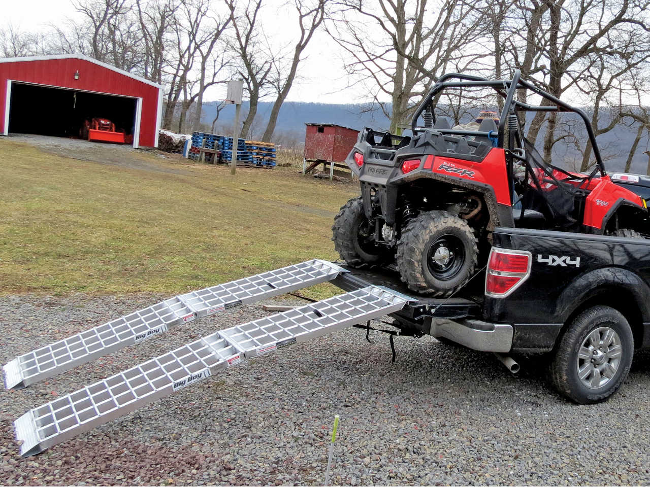 Atv Truck Ramps >> Product Review Big Boy Ii Ramps Atv Illustrated