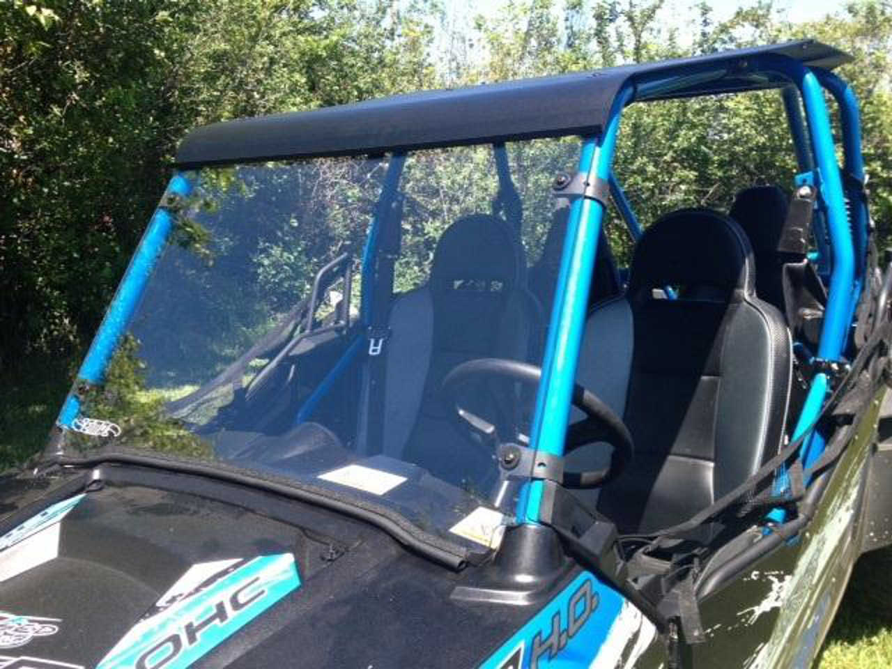 Rzr Windshield For Jagged X 4 Atv Illustrated