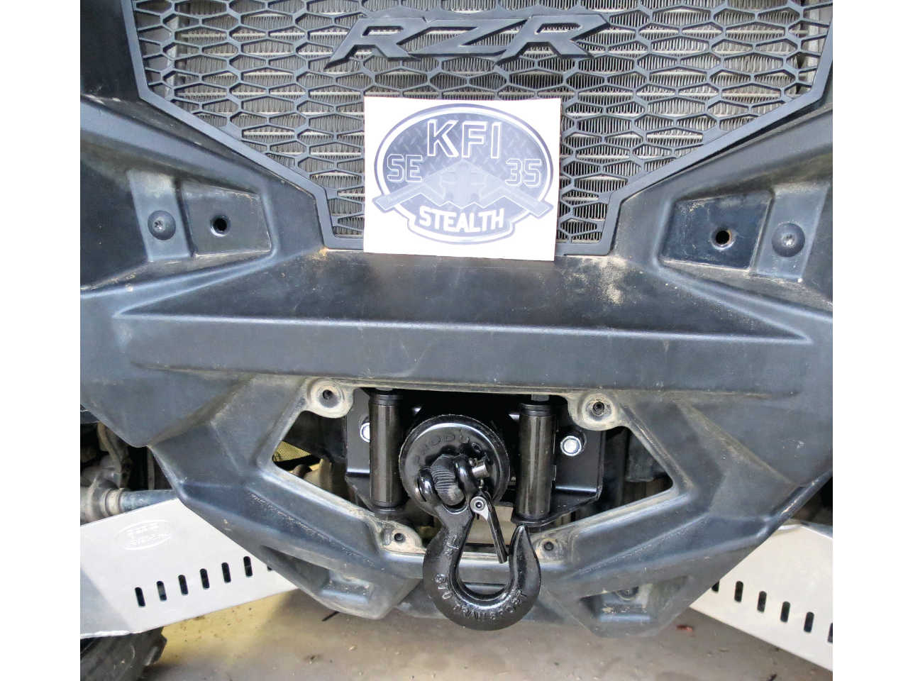 New Product Review Kfi Stealth Winch Atv Illustrated