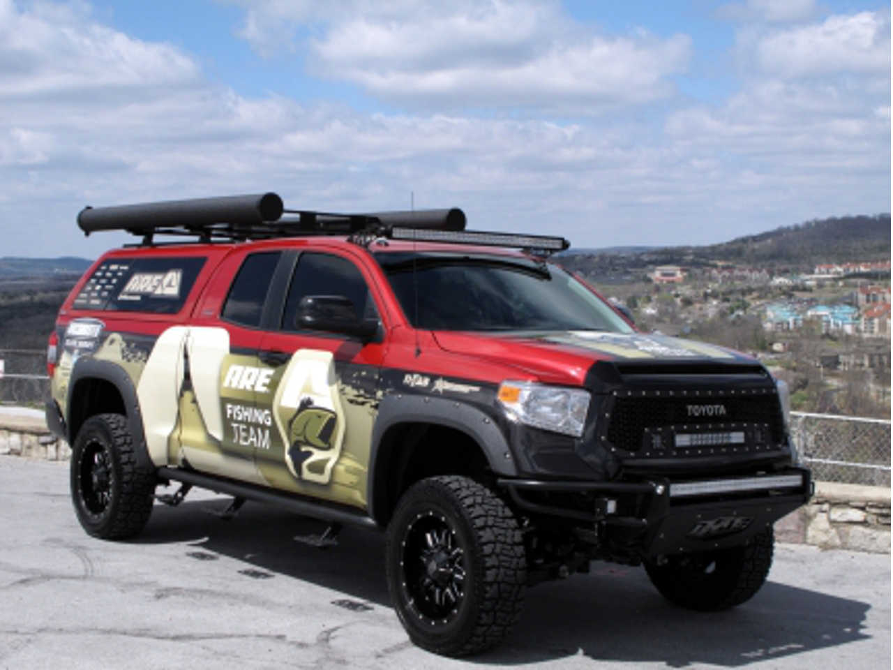 A R E 2014 Fishing Team Tundra Project Truck Showcases