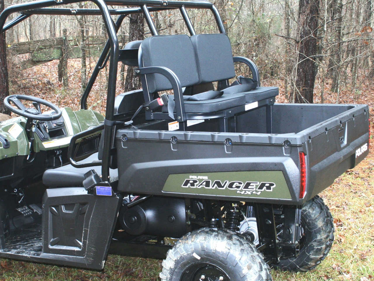 Deluxe Utv Rumble Seat Hd Heavy Duty Atv Illustrated