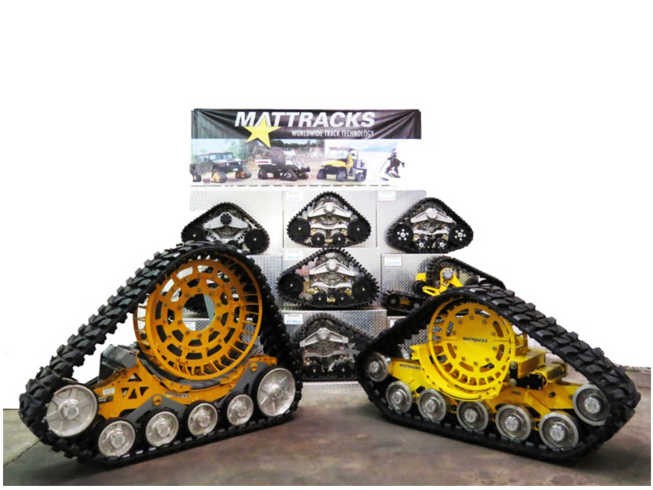 Tractor Track System : Mattracks releases new ag track series atv illustrated