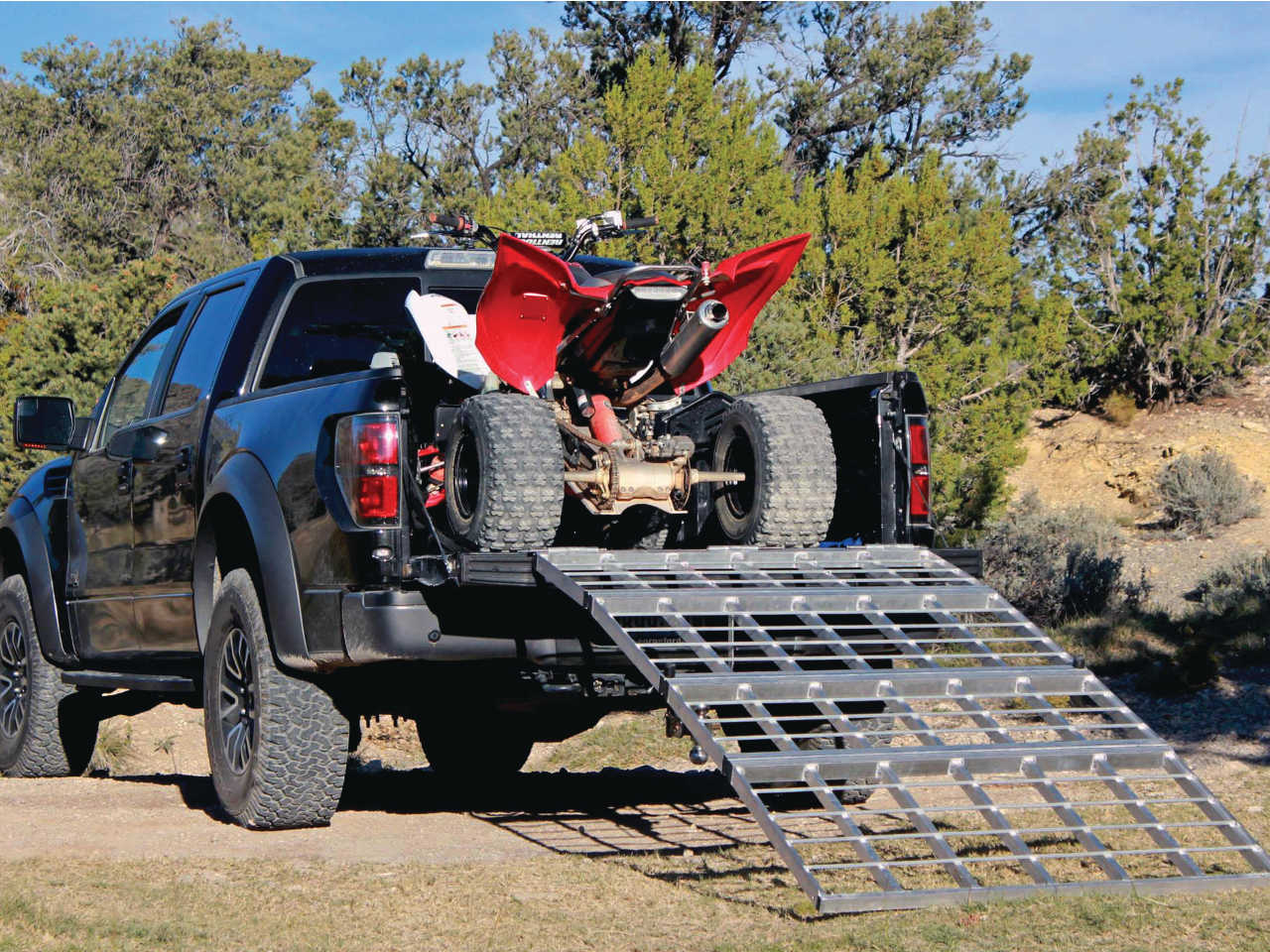 Atv Truck Ramps >> New Product Test Inside The Shark Kage Atv Illustrated