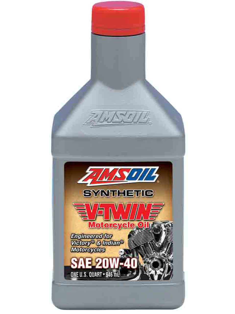 New 20w 40 Synthetic V Twin Motorcycle Oil For Victory