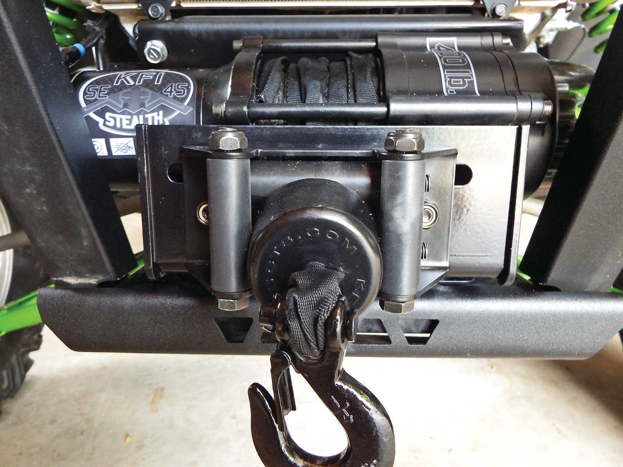 Kawasaki Teryx Winch Wiring Great Design Of Diagram 2013 Utv Accessories 101 Building A Trail Friendly Atv Illustrated Rh Atvillustrated Com 2014