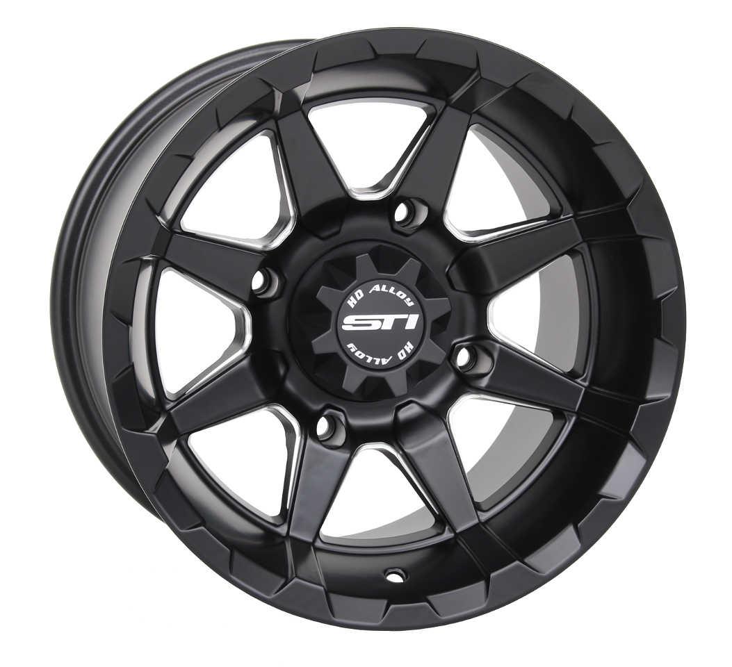 Sti tire and wheel hd5 beadlock and hd6 wheel line atv illustrated