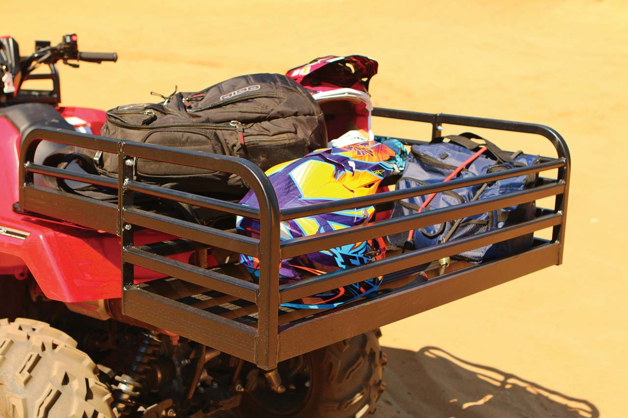 improvement steel cargo amazon luggage titan carrier com basket rack front hd dp universal home atv