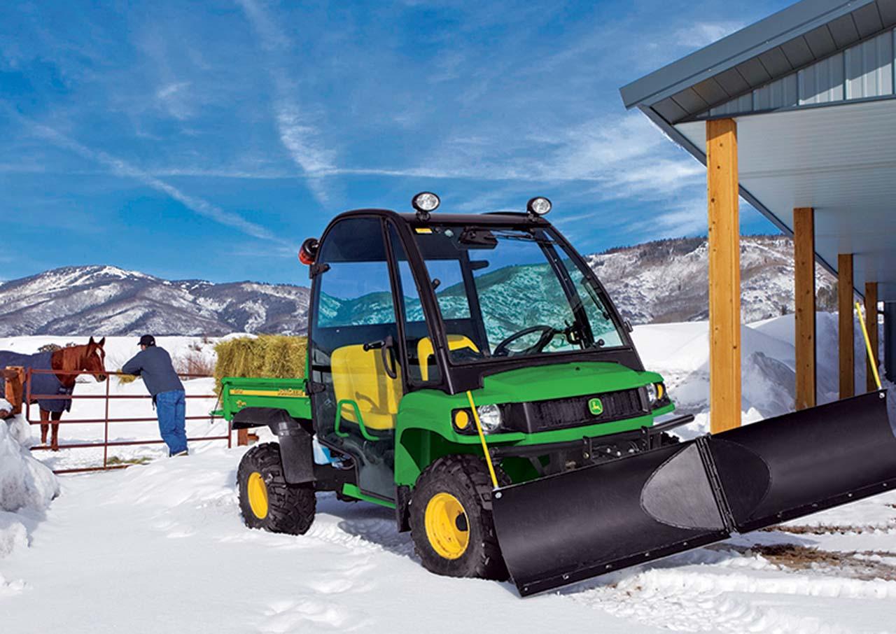 Buyers Guide Snow Plow Roundup Atv Illustrated John Deere Gator Wiring Diagram Vendor2017john Deerepowertach Bladeon Xuv