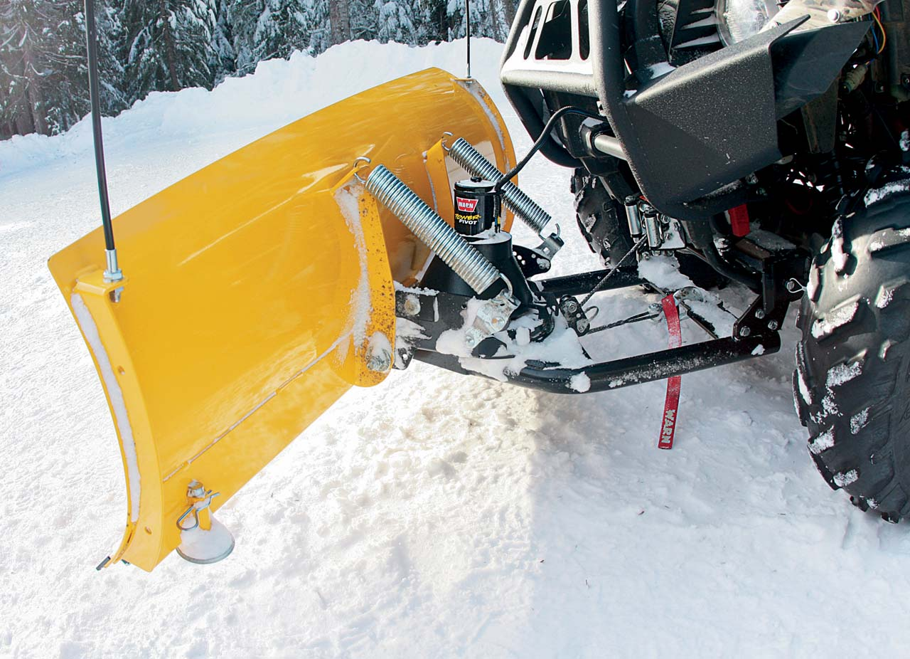Buyers Guide Snow Plow Roundup Atv Illustrated Fisher Hydraulic Wiring Diagram Vendor2017warnprovantage Plowon