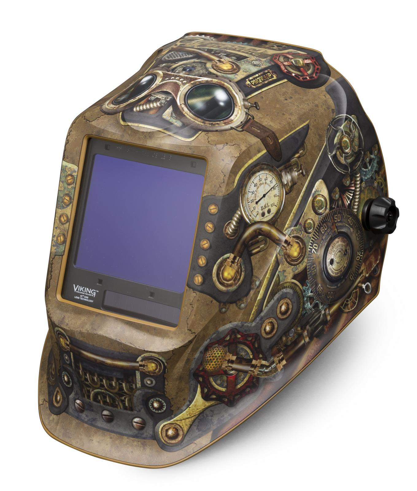 Lincoln Welding Helmet 3350 >> Lincoln Electric Releases New VIKING 3350 Steampunk ...