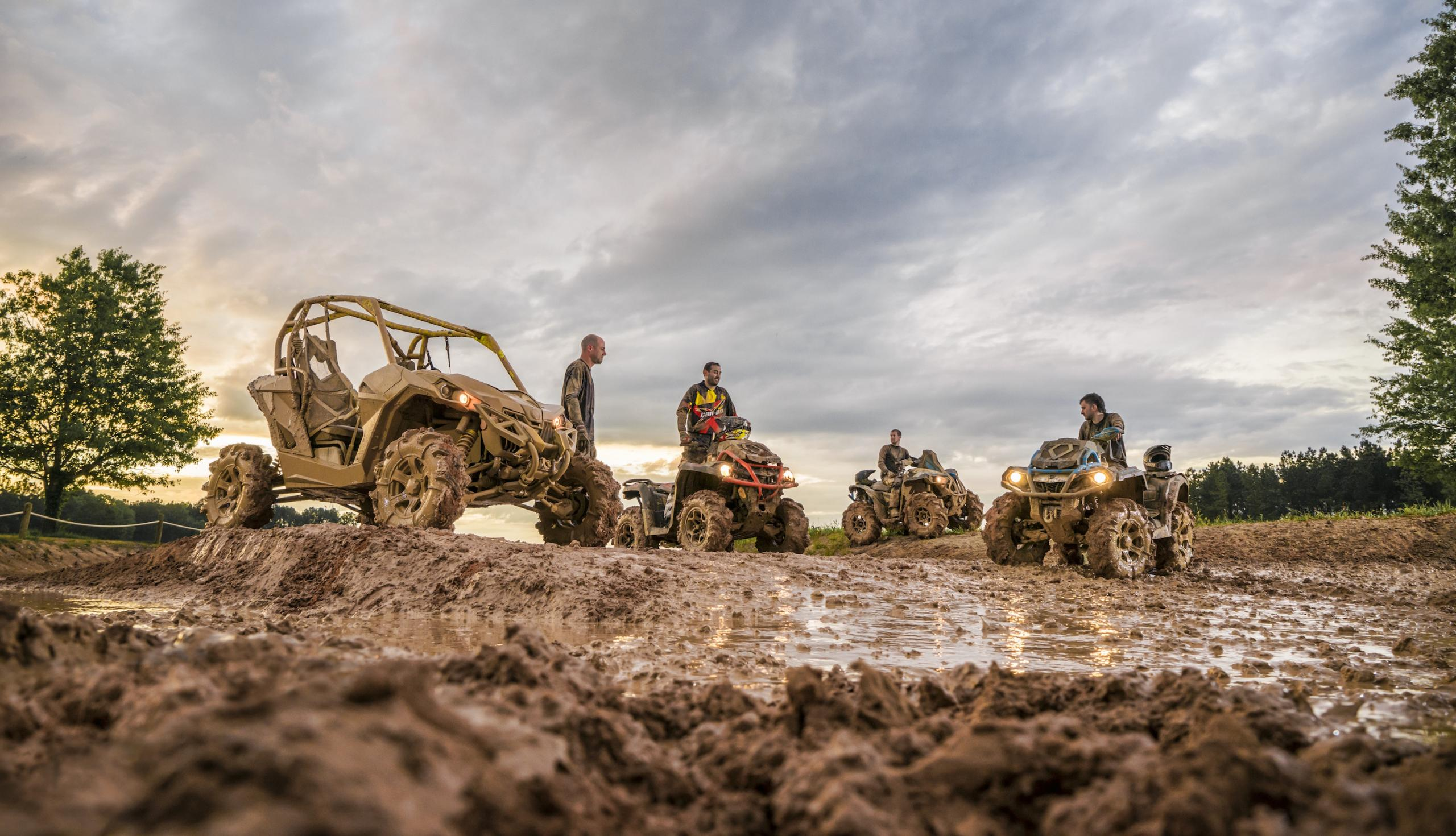 Can Am X Mr Family Purpose Built For The Mud Atv Illustrated