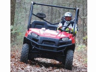 Whether on the work site or the trail, the Ranger 800 6x6 is an awesome machine