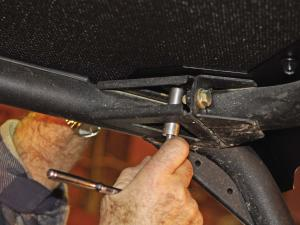 The cab kit is easy to install, but an extra set of hands is needed for some parts.
