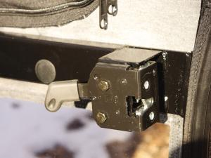 This is the best latch in the UTV world.  It works perfectly every time.