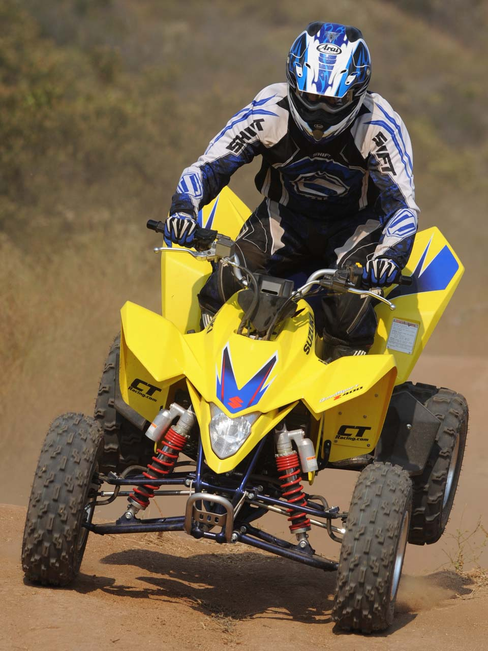 Side By Side Atv >> Best Sport ATV - The 2011 Suzuki LTZ 400 | ATV Illustrated